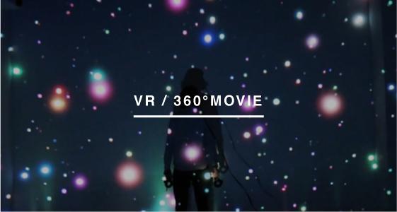 VR / 360°MOVIE