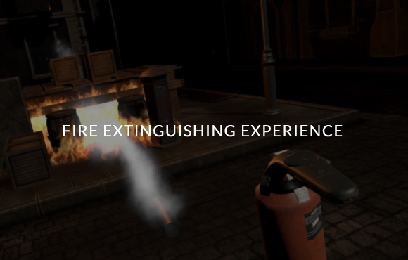 FIRE EXTINGUISHING EXPERIENCE