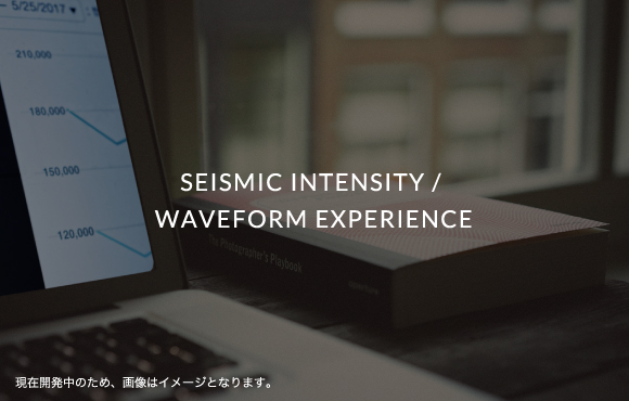 SEISMIC INTENSITY / WAVEFORM EXPERIENCE