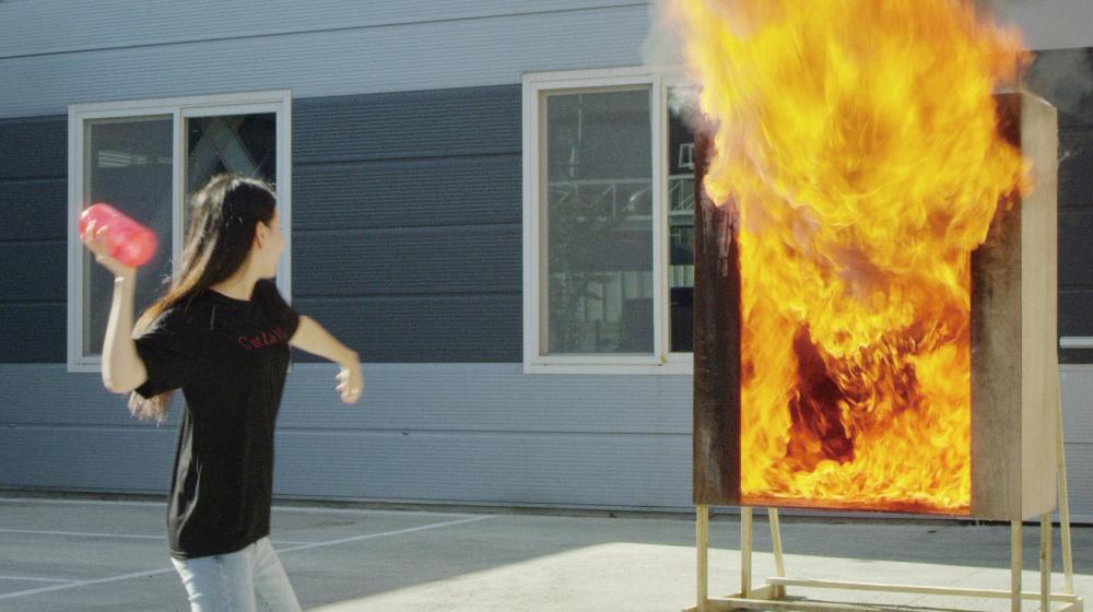 火災を食い止める花瓶「Firevase」